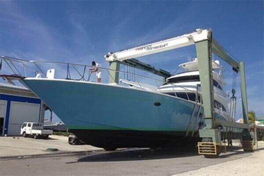 Scotts Marine 110 ton travel lift